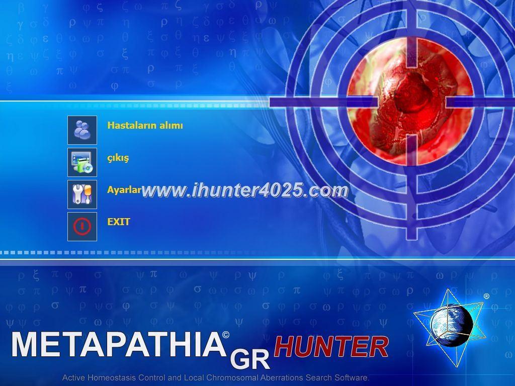 metatron hunter scanner